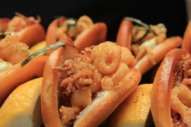 Bocadillo de calamares de Luque (El Jardín del InterContinental).