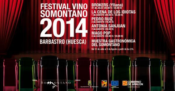 FestivalSomontano14cartel