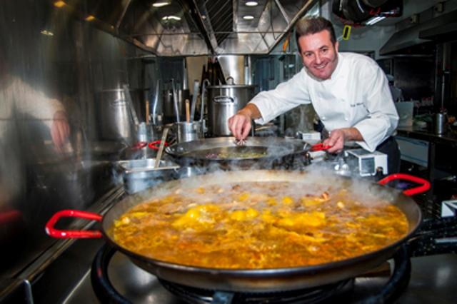 Rafa Morales, chef de Que si quieres arroz Catalina.