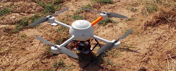 Dron en Viñas del Vero