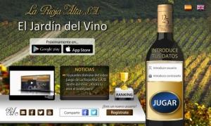 El jardín del vino