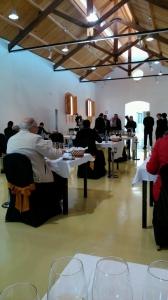 Sesión de cata en el Museo del Vino.