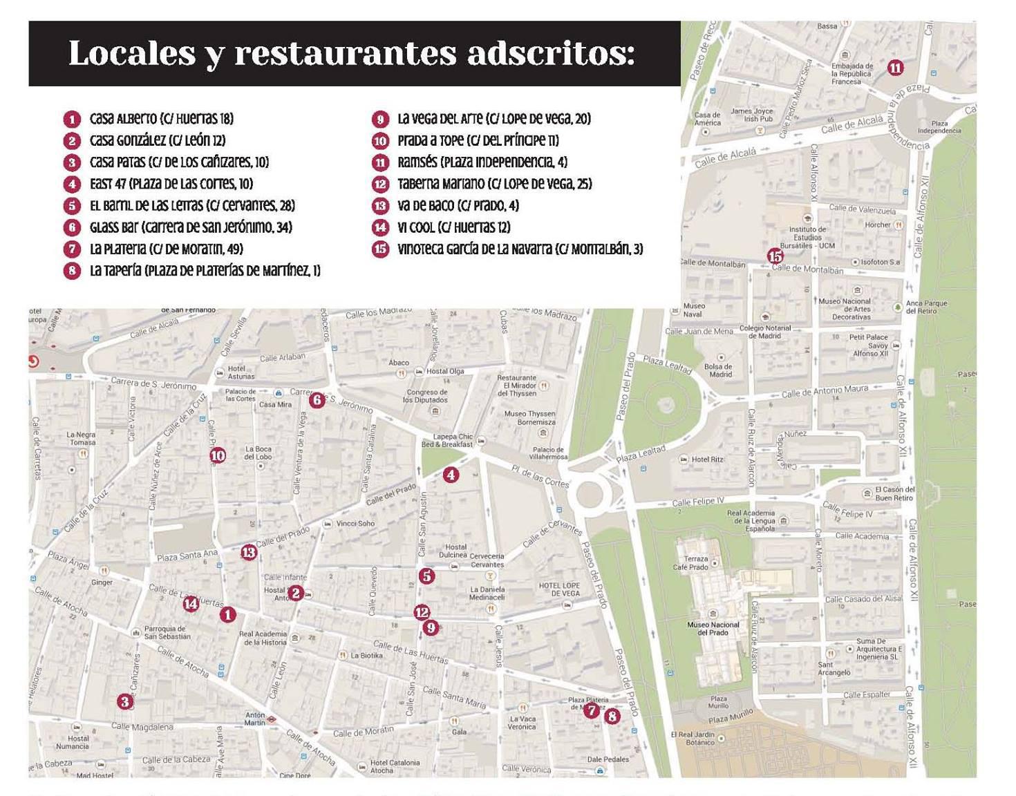 mapa Gastro Bacchus