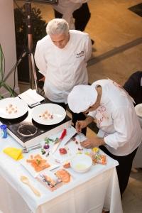 Un momento del Concurso de Cocina organizado por la cadena de supermercados.