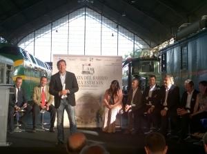 Un momento de la presentación de la Cata en Madrid.