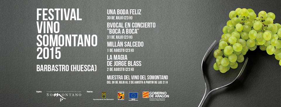 Festival Somontano. cartel