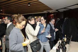 La presentación en Madrid se acompañó de un showrrom de vinos de Navarra.