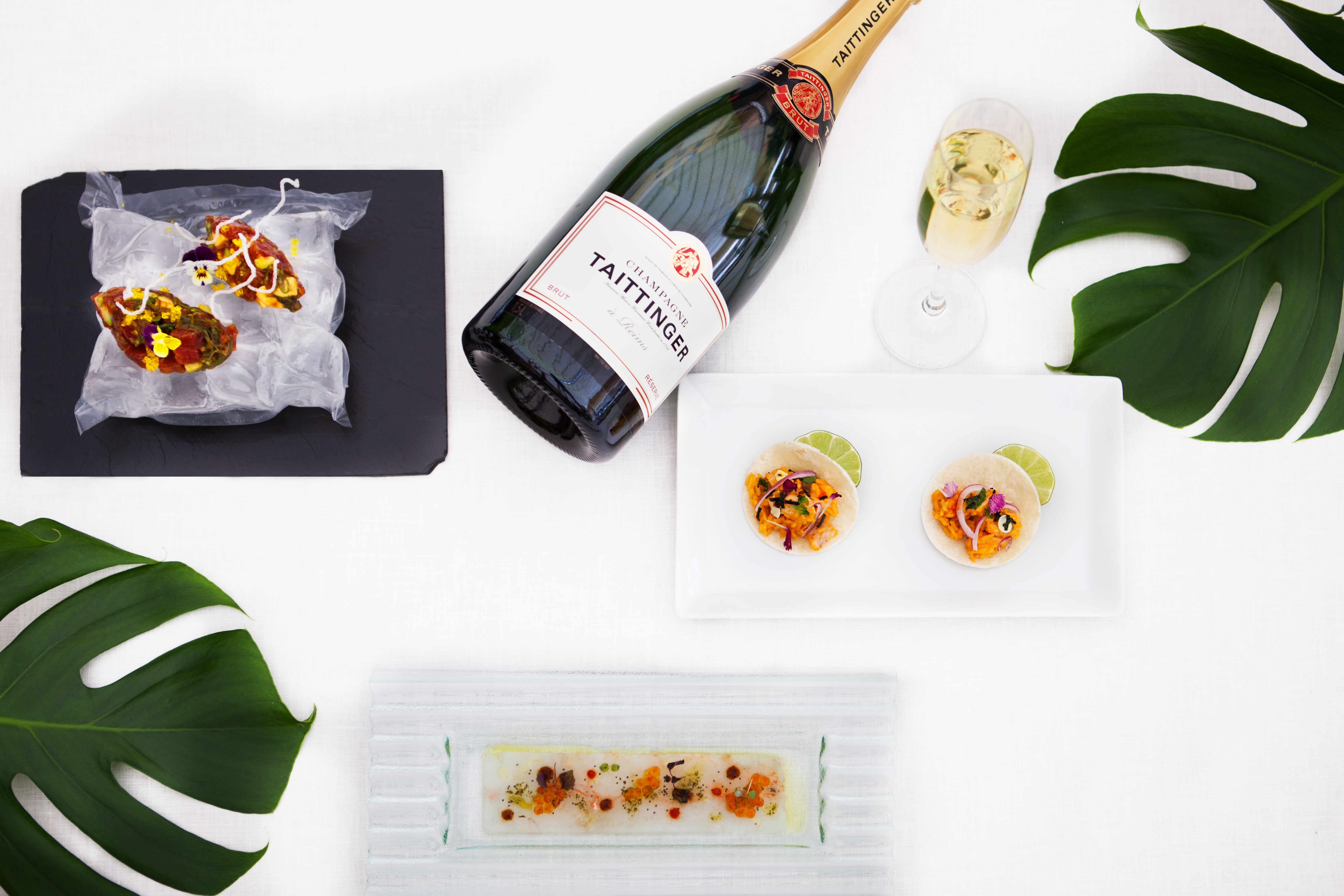 Carta de tapas InterContinental Madrid_Taittinger