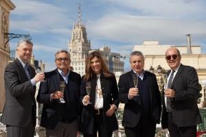 Juanma Bellver, Siscu Martí, Xandra Falcó, Quim Vila y Fernando Gurucharri.