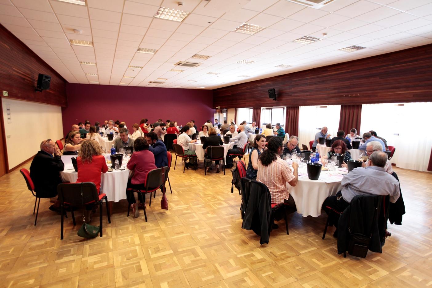 Sesiones tecnicas de cata Premios Baco cosecha 2015