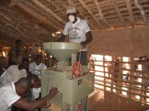Programa en la RD Congo.