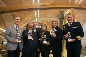 Profesionales premiados en la edición del año 2017.